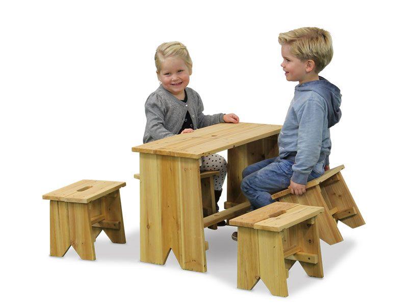Set masuta cu scaunele copii EXIT Junior XL