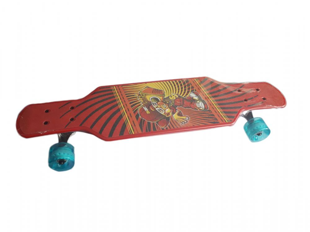 Skateboard pentru copii 73 cm X GLOBO plastic imagine