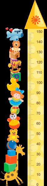 Sticker decorativ Metru toys 46 x 183 cm