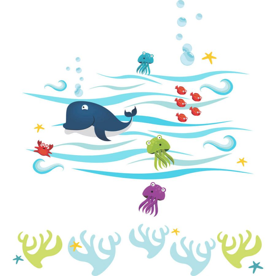 Sticker decorativ Ocean