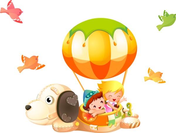 Sticker decorativ Vis de copii