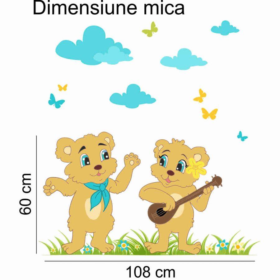 Sticker decorativ Cantaretii