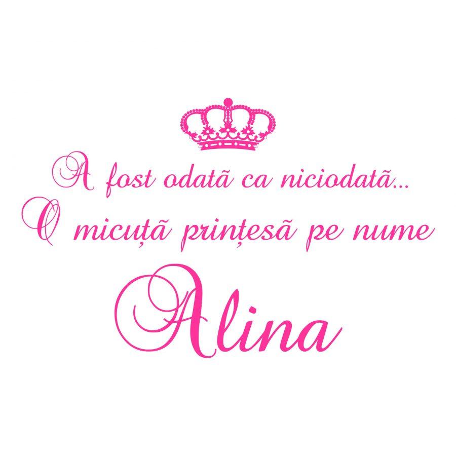 Sticker decorativ Princess