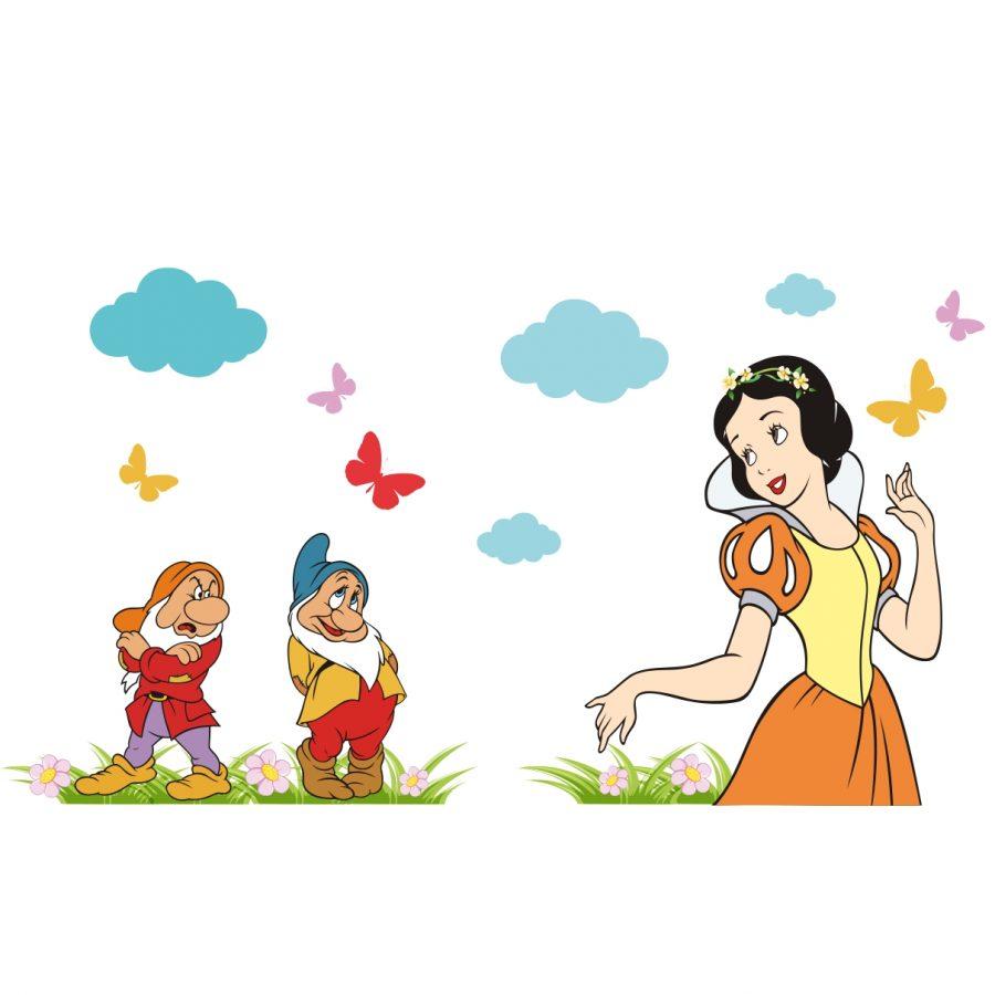 Sticker Perete Copii Basm De Copii 80 X 54 Cm