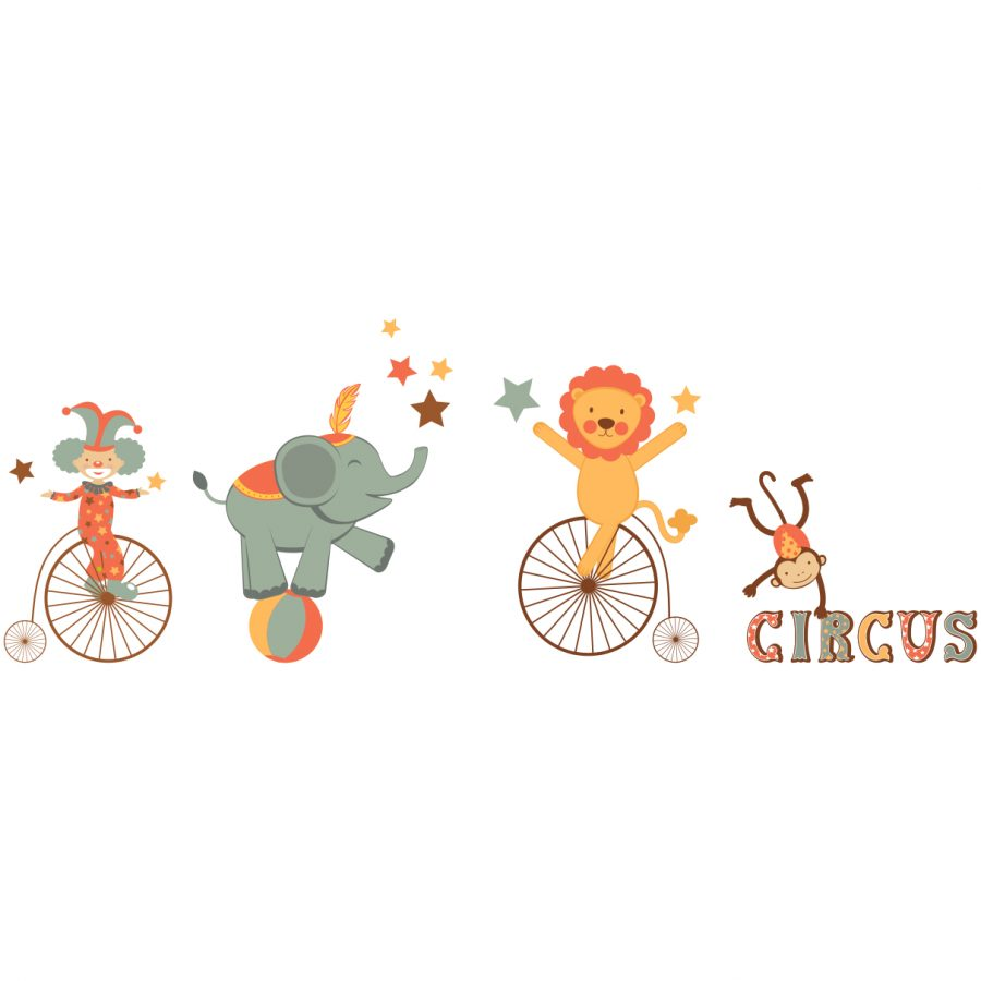 Sticker decorativ Circus