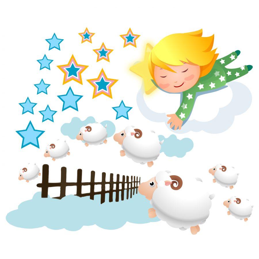Sticker decorativ Dormitorul copilului