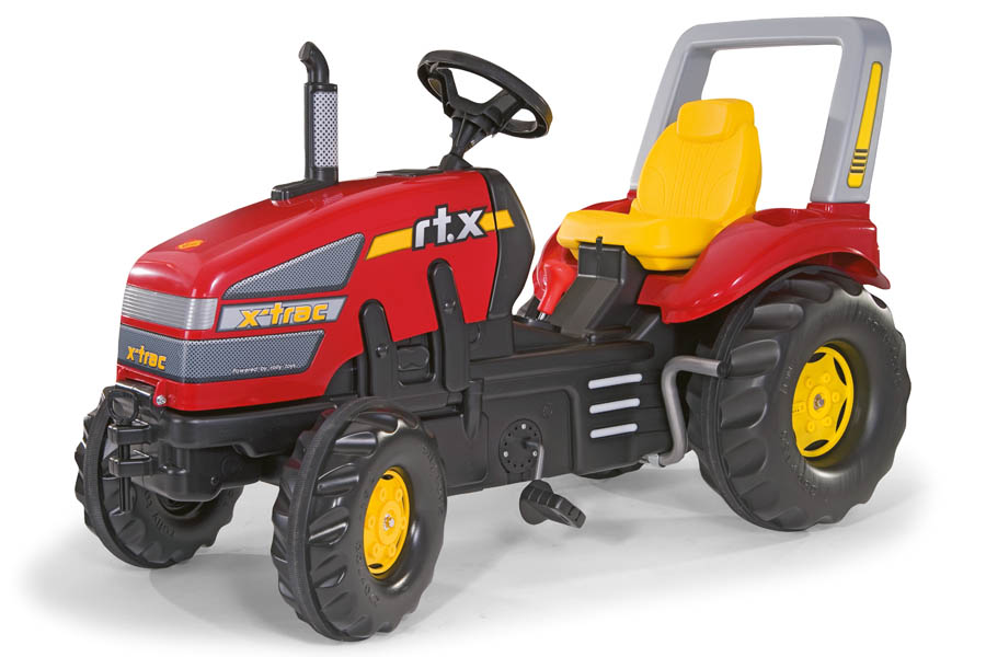Tractor cu pedale copii Rolly Toys 035564 Rosu imagine