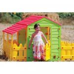 Casuta pentru copii Farm House cu gardut