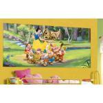 Fototapet Disney Alba Ca Zapada si piticii 202 x 90 cm