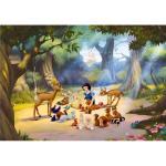 Fototapet Disney Alba ca Zapada si animale 360x270 cm