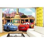 Fototapet Disney Cars McQueen si Sally 360 x 270 cm