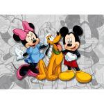 Fototapet Disney Minnie Mickey Pluto 160 x 115 cm