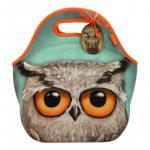 Geanta pranz Grumpy Owl Book Owl
