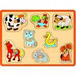 Puzzle din lemn Animale domestice