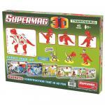 Jucarie cu magnet T-Rex Supermag 3D