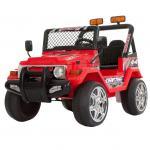 Masinuta electrica 12V cu roti din cauciuc Drifter Jeep 4x4 Rosu