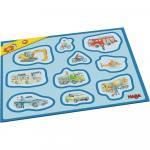 Primul meu puzzle cu rama Haba Vehicule 2ani+