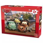 Puzzle 24 piese modele asortate Cars