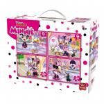 Puzzle 4 in 1 Minnie Mouse