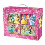 Puzzle 4in1 Princess