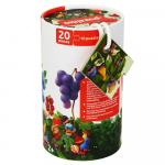 Puzzle 5 in 1 Cubika Sa invatam fructele de padure