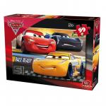 Puzzle 99 piese Cars 3
