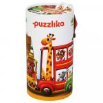 Puzzle Cubika Masinutele cu prieteni