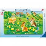Puzzle animale dragalase 15 piese