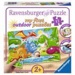 Puzzle dinozauri 12 piese