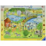 Puzzle distractie la zoo 24 piese