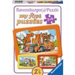 Puzzle masini 3x6 piese