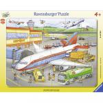 Puzzle mic aeroport 40 piese