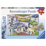 Puzzle politie 2x12 piese