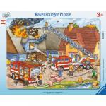 Puzzle pompieri 14 piese