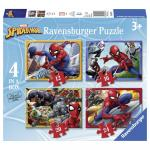 Puzzle spiderman 12/16/20/24 piese