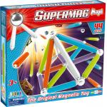 Set constructie 44 piese Supermag Maxi Neon