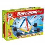 Set constructie 35 piese Supermag Maxi Wheels
