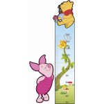 Sticker decorativ Metru Winnie 70 x 153 cm