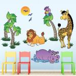Sticker decorativ Veselie in Natura 120 x 80 cm