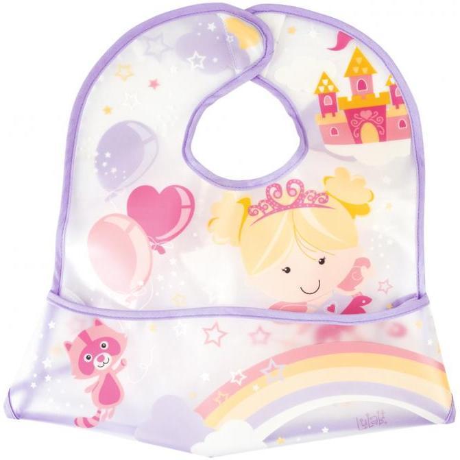 Bavetica impermeabila cu buzunar Fairy Tales Lulabi 7978100