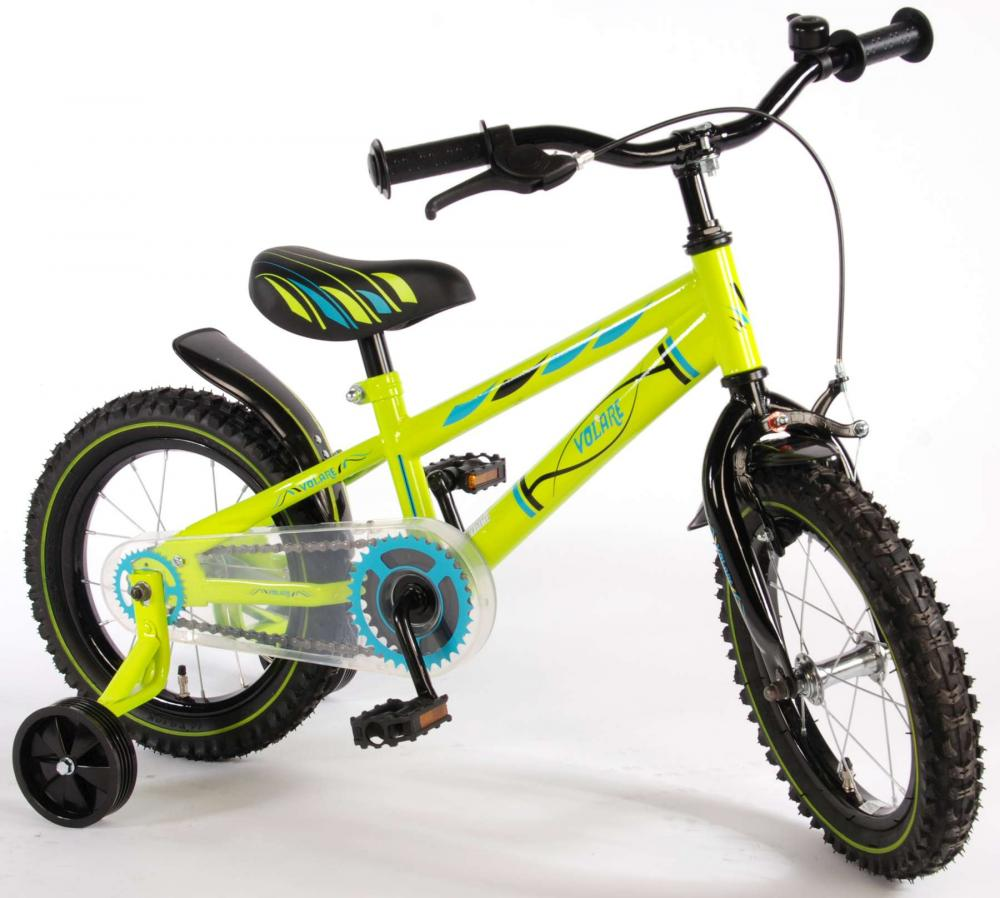Bicicleta EL Blade Electric Green 14 inch