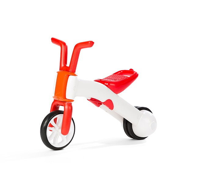 Bicicleta de echilibru 2 in 1 rosu Bunzi