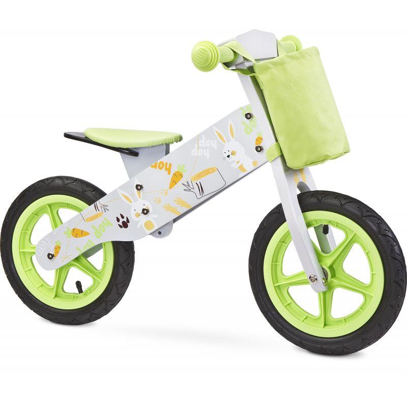 Bicicleta din lemn Toyz by Caretero Zap Grey