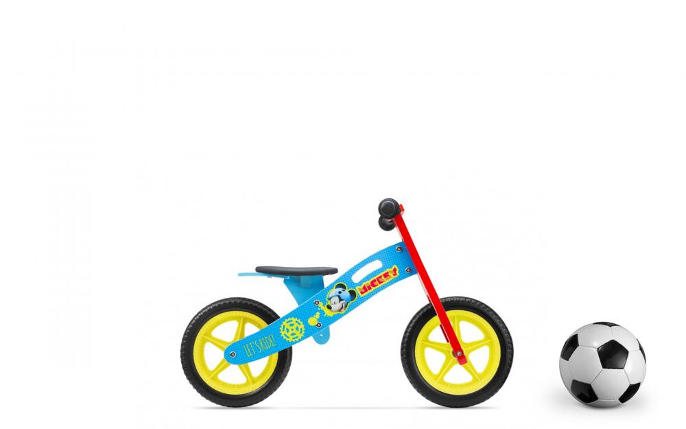 Imagine indisponibila pentru Bicicleta fara pedale Mickey Mouse