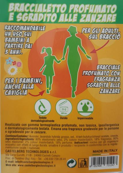 Bratara antitantari marime S copii verde