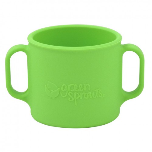 Cana de invatare Learning Cup Green Sprouts Green