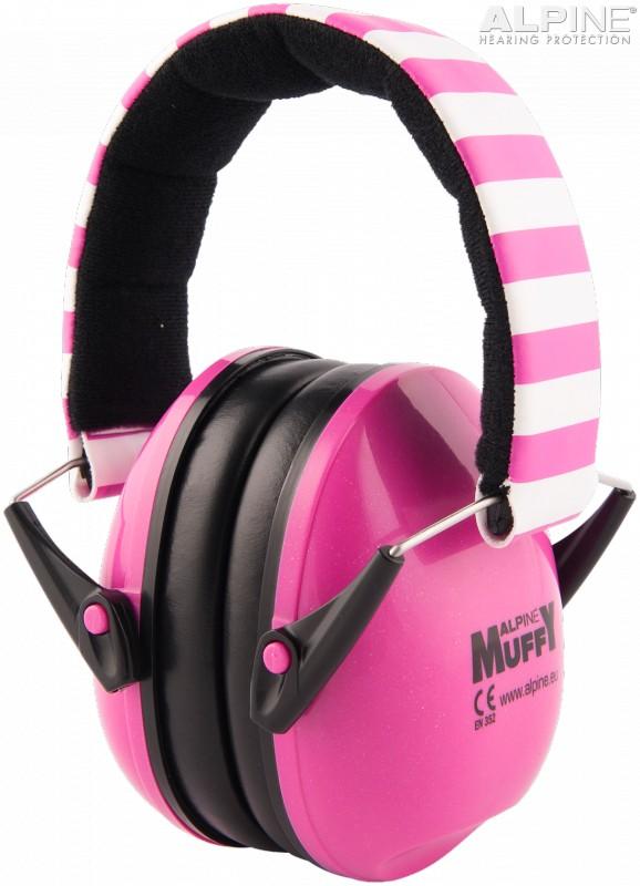 Casca impotriva zgomotului antifon Alpine Muffy pink