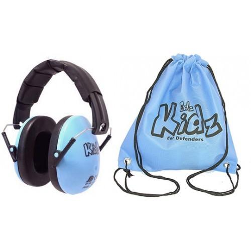 Casca impotriva zgomotului, antifon Edz Kidz albastru