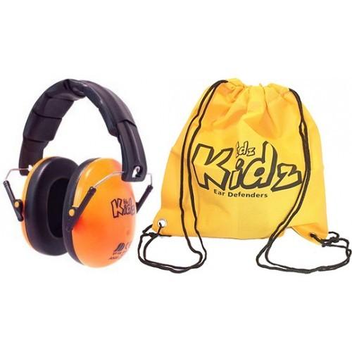 Casca impotriva zgomotului, antifon Edz Kidz portocaliu