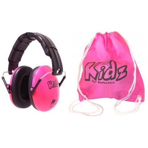 Casca impotriva zgomotului, antifon Edz Kidz roz